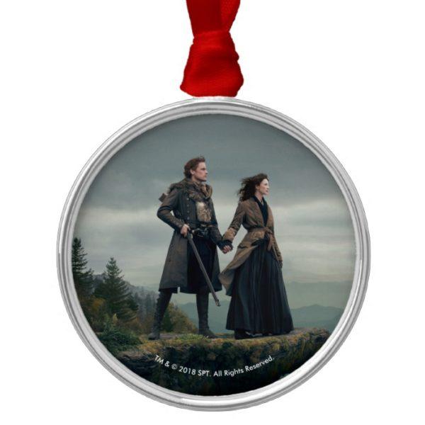 Outlander Season 4 | Brave the New World Metal Ornament