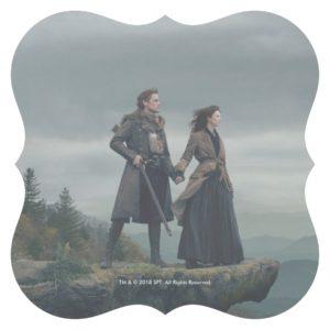 Outlander Season 4   Brave the New World Paper Coaster