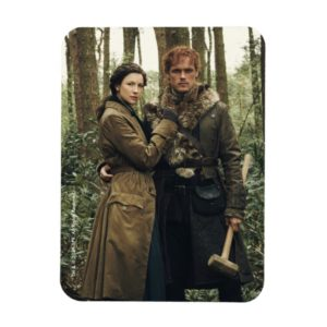 Outlander Season 4 | Claire & Jamie Claiming Land Magnet