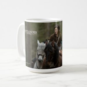 Outlander Season 4 | Claire Smiling Coffee Mug