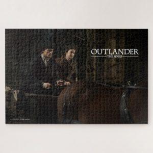 Outlander Season 4 | Jamie & Claire Night Ride Jigsaw Puzzle
