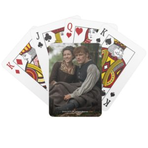 Outlander Season 4 | Jamie & Claire Smile Playing Cards