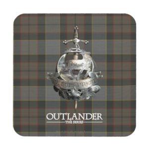 Outlander | The Fraser Brooch Beverage Coaster