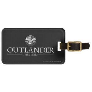 Outlander | The Series Logo White V1 Bag Tag