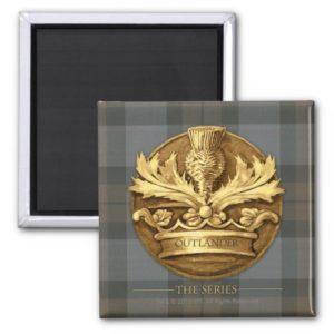 Outlander | The Thistle Of Scotland Emblem Magnet