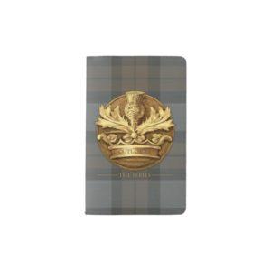 Outlander | The Thistle Of Scotland Emblem Pocket Moleskine Notebook