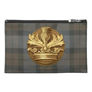 Outlander | The Thistle Of Scotland Emblem Travel Accessory Bag