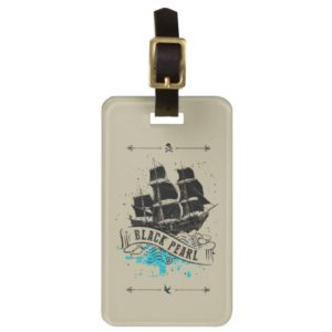 Pirates of the Caribbean 5 | Black Pearl Luggage Tag