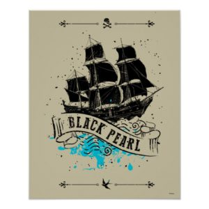 Pirates of the Caribbean 5   Black Pearl Poster