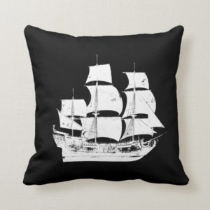 Pirates of the Caribbean 5 | The Sea Rules All Throw Pillow