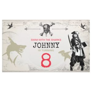 Pirates of the Caribbean | Birthday Banner