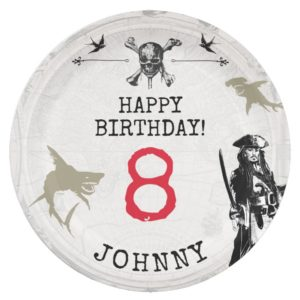 Pirates of the Caribbean | Birthday Paper Plate