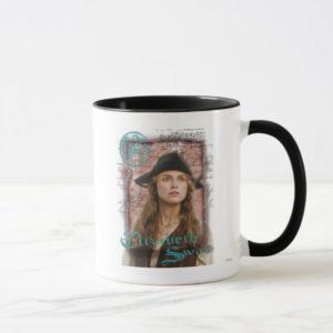 Pirates Of The Caribbean Elizabeth Swann Disney Mug