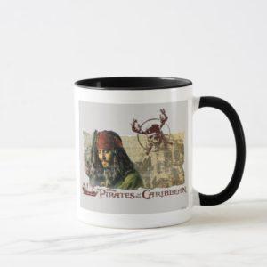 Pirates of the Caribbean Movie Art Disney Mug