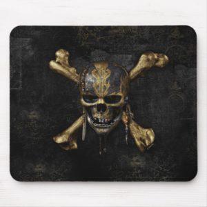 Pirates of the Caribbean Skull & Cross Bones Mouse Pad