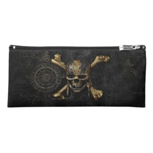 Pirates of the Caribbean Skull & Cross Bones Pencil Case