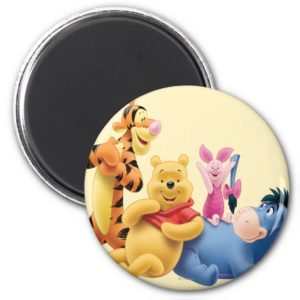 Pooh & Friends 10 Magnet