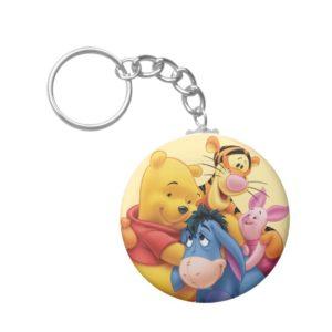 Pooh & Friends 5 Keychain