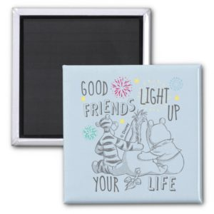 Pooh & Pals | Friends Light Up Your Life Magnet
