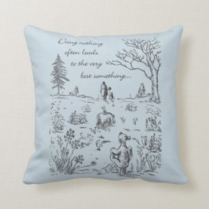Pooh & Pals | The Very Best Something Quote Throw Pillow