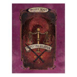 PORTENTINA GOLDSTEIN™ MACUSA™ Graphic Postcard