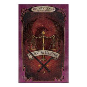 PORTENTINA GOLDSTEIN™ MACUSA™ Graphic Poster