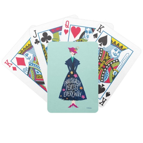 Practically Perfect in Every Way Bicycle Playing Cards