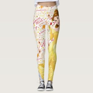 Princess Belle Leggings