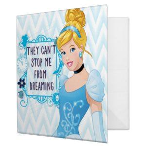 Princess Cinderella 3 Ring Binder