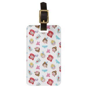 Princess Emoji Pattern Bag Tag