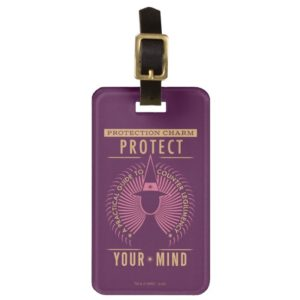 Protection Charm Guidebook Luggage Tag