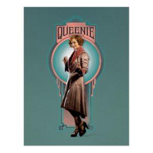 QUEENIE GOLDSTEIN™ Art Deco Panel Postcard