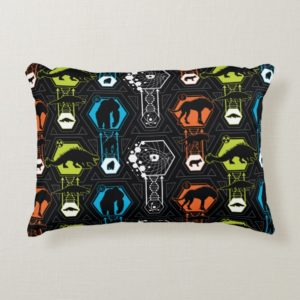 RAMPAGE | Character Pattern Accent Pillow