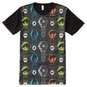 RAMPAGE   Character Pattern All-Over-Print Shirt