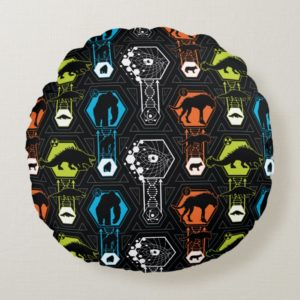RAMPAGE | Character Pattern Round Pillow
