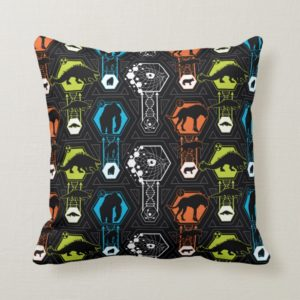 RAMPAGE | Character Pattern Throw Pillow