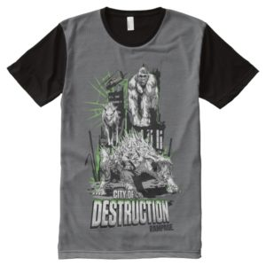 RAMPAGE | City of Destruction All-Over-Print Shirt