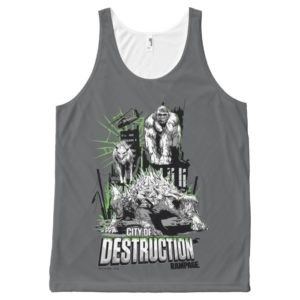 RAMPAGE | City of Destruction All-Over-Print Tank Top