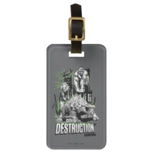 RAMPAGE   City of Destruction Bag Tag