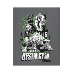 RAMPAGE | City of Destruction Canvas Print