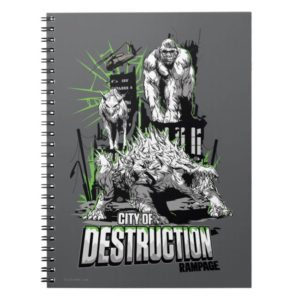 RAMPAGE | City of Destruction Notebook