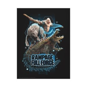 RAMPAGE | FULL FORCE CANVAS PRINT