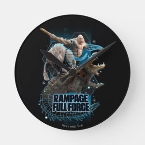 RAMPAGE   FULL FORCE ROUND CLOCK
