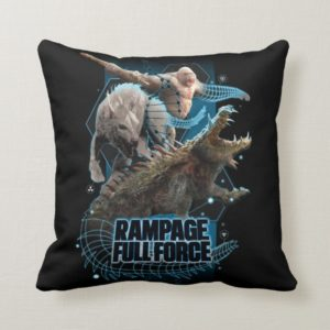 RAMPAGE | FULL FORCE THROW PILLOW
