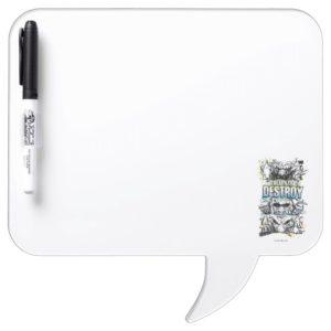 RAMPAGE | Ready to Destroy Dry Erase Board