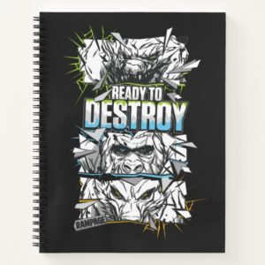 RAMPAGE | Ready to Destroy Notebook