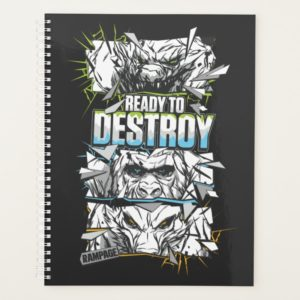 RAMPAGE | Ready to Destroy Planner
