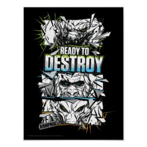 RAMPAGE   Ready to Destroy Poster