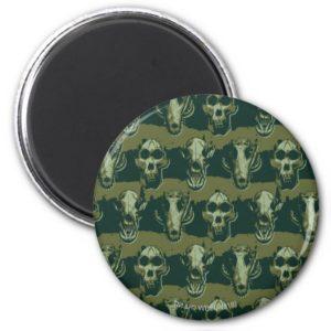 RAMPAGE | Skulls Pattern Magnet