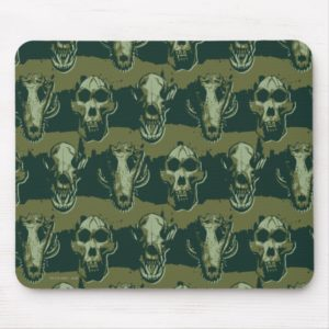 RAMPAGE | Skulls Pattern Mouse Pad